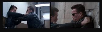 Déja pour l'époque, le premier duel entre le Terminator et le T100 était très impressionant