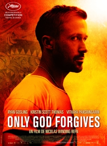 AFICHE ONLY GOD FORGIVES