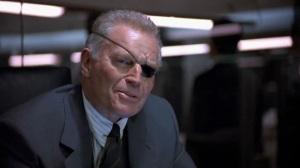 Charlton Heston alias Spencer Trilby le patron d'Harry et Gibson