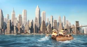 en route pour new york