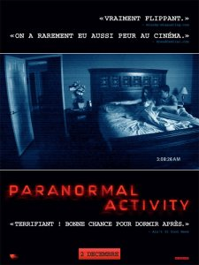 affiche paranormal