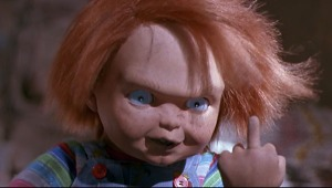 Chucky, roi de la répartie.