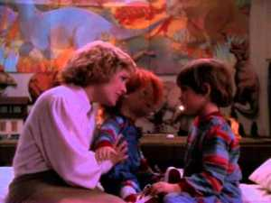 """""""Mais maman c'est pas moi c'est Chucky"""". Un phrase que vous entendrez TRÈS souvent."""