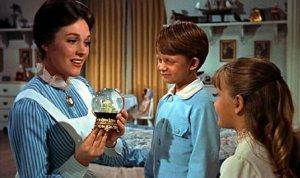 Julie Andrews, Matthew Garber et Karen Dotrice