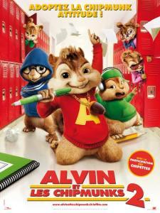 alvin 2 affiche