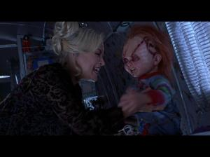 Chucky est visiblement chatouilleux. Cette scène là nous prouve que Chucky n'est plus vraiment menaçant.