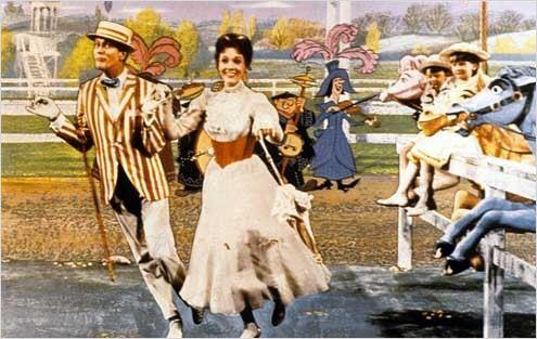 Mary Poppins1964real : Robert Stevensonjulie andrewsCOLLECTION CHRISTOPHEL