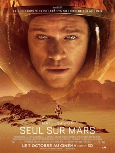 seul sur Mars affiche