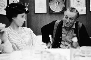 Walt Disney et Julie Andrews