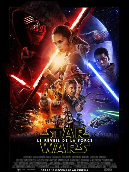 affiche star wars episode 7