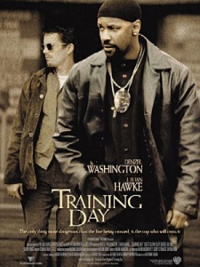 training day affiche
