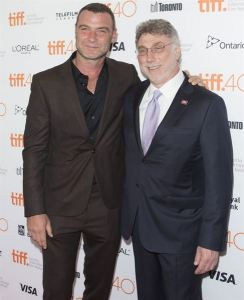 Liev Shreiber et Marty Baron