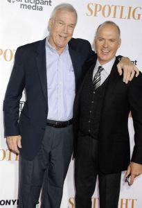 Michael Keaton et Walter V.Robinson