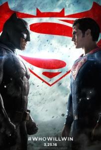 batman v superman affiche