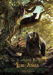 livre de la jungle affiche
