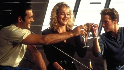 Duncan aux cotés de sa compane Tessa et de son ami Ritchie