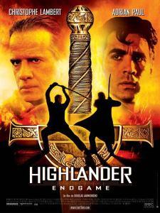 highlander endgame affiche