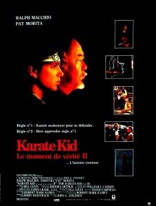 karate kid 2 affiche