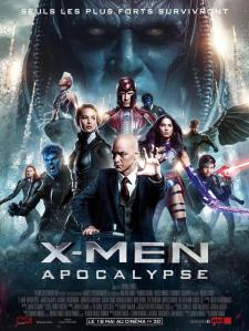 x men apocalypse affiche