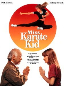 miss karate kid affiche