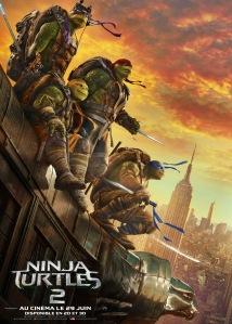 ninja turtles 2 affiche