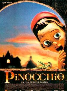 pinocchio affiche 1996
