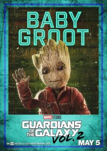 baby groot poster