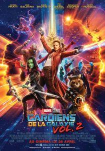 gardiens de la galaxie 2 affiche