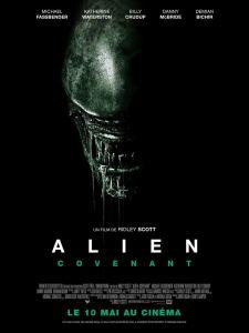 alien covenant affiche