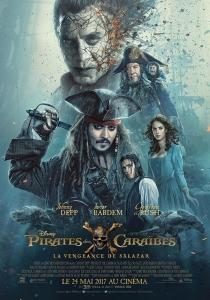 pirates des caraibes la vengeance de salazar affiche