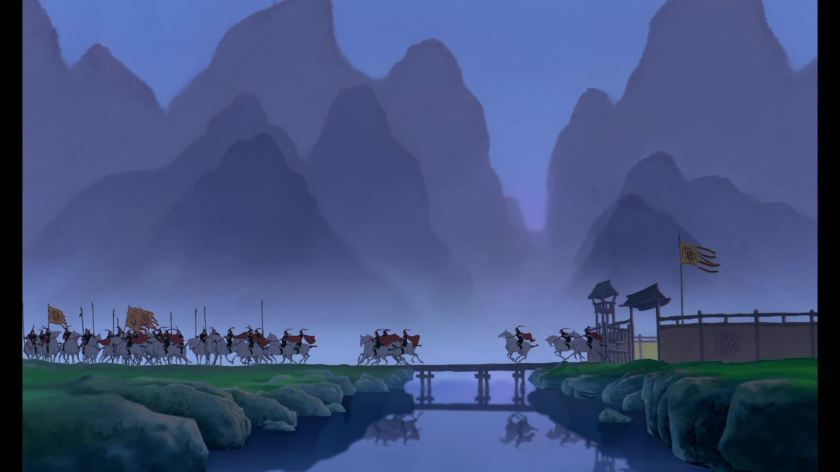 decors mulan disney