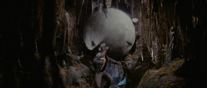 indiana jones arche perdue boule rocher