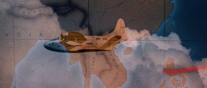 indiana jones arche perdue voyage avion