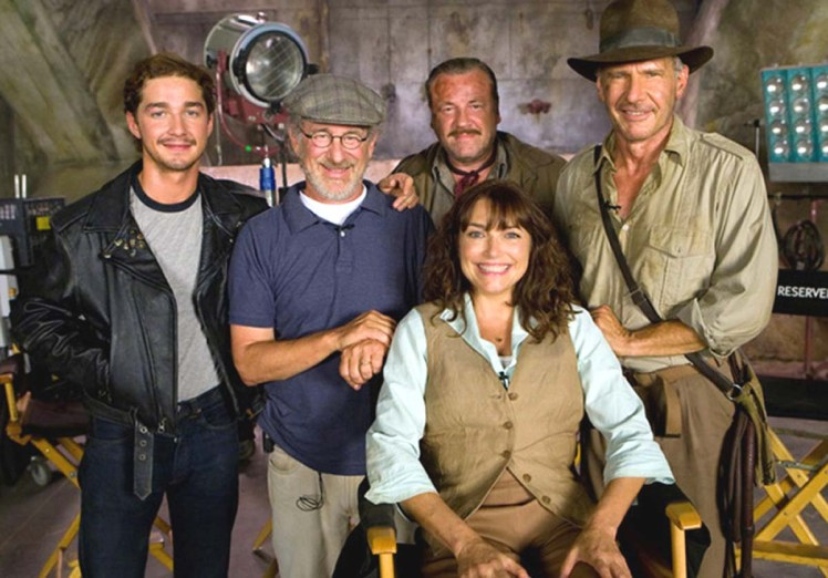 indiana jones royaume crane de cristal tournage castin