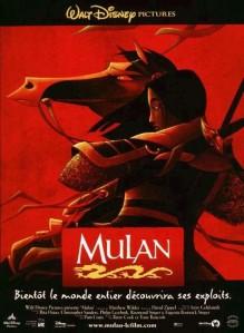 mulan disney affiche