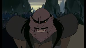 shan yu mulan disney mechant