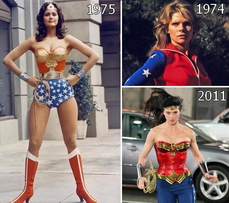 wonderwoman evolution