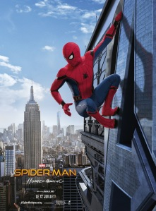 spiderman homecoming affiche