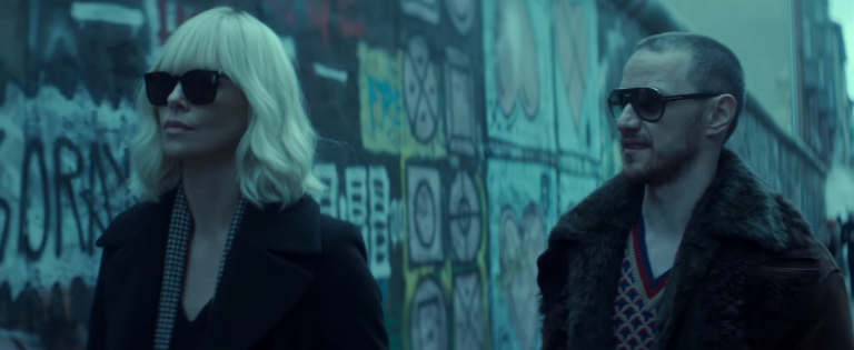 atomic blonde james mcavoy charlize theron