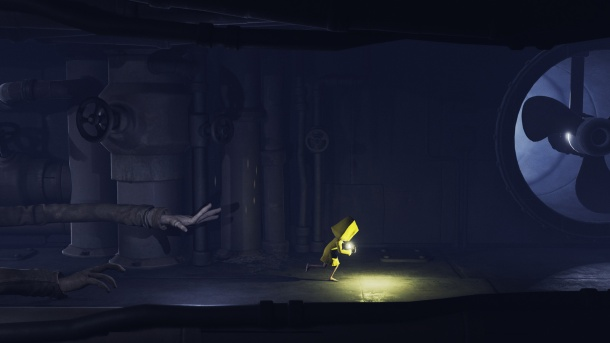 little nightmares dark corridor