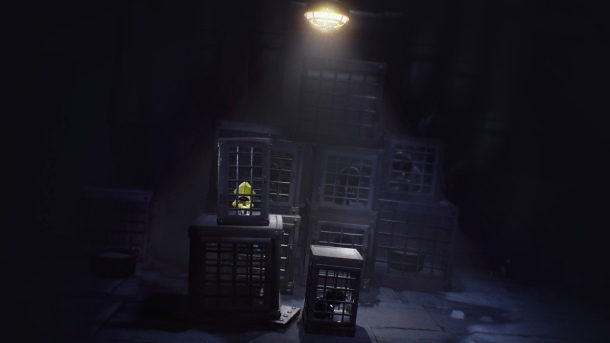 little nightmares emprisonné