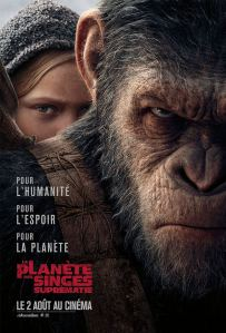 planete des singes suprematie affiche