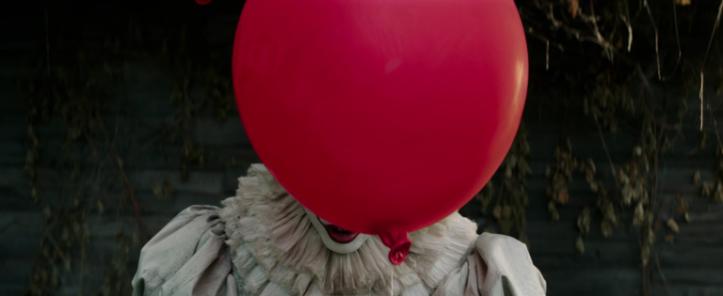 ca it 2017 grippe sous pennywise ballon rouge flott
