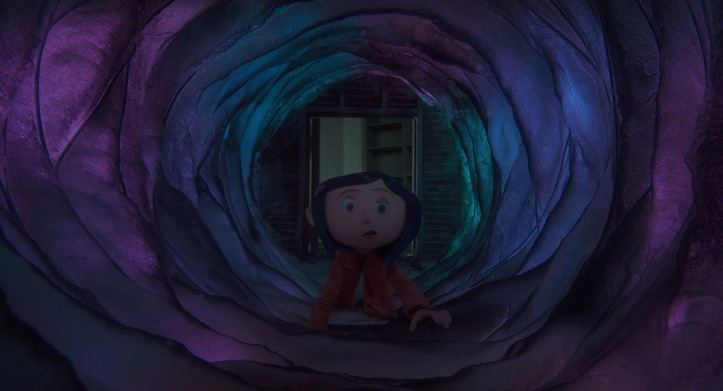 coraline tunnel autre monde