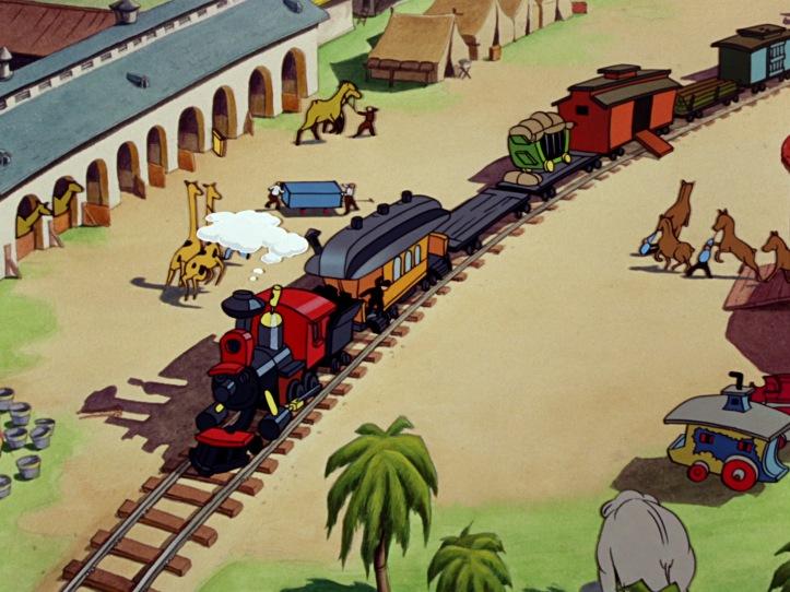 dumbo train depart disney