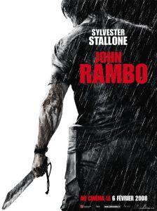 john rambo affiche