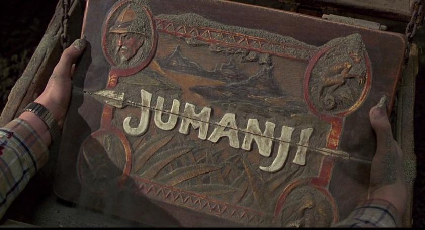 jumanji jeu terre enterre