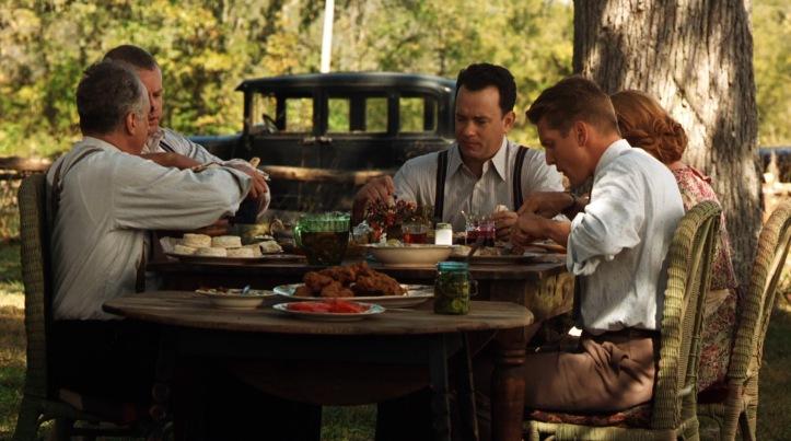 la ligne verte table repas gardiens