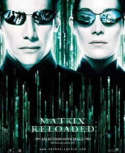 matrix reloaded affiche