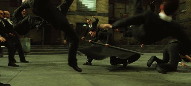 matrix reloaded agents smith